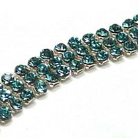 "40601 Swarovski Crystal Minimesh ""Light Turquoise"" PP9 ca 1,5 mm"