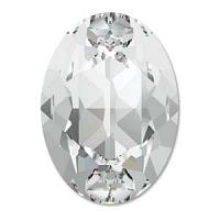 "4120 Swarovski Oval Fancy Stone ""Crystal"" 25*18 mm 1 st"