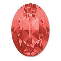 "4120 Swarovski Oval Fancy Stone ""Padparadscha"" 14*10 mm 1 st"