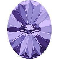 4122 Swarovski Oval Rivoli Fancy Stone Crystal Tanzanite 14*10,5
