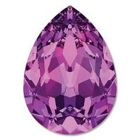 "4320 Swarovski Pear Fancy Stone ""Amethyst"" 18*13 mm 1 st"