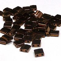 "Tila Bead ""TL457B"" Metallic Dark Bronze 5*5*1,9 mm 5 gr"