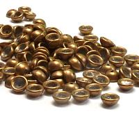 "Teacup Bead ""06B04"" Saturated Metallic Ceylon Yellow 4*2,5 mm 5"