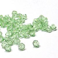 5301 Chrysolite Swarovskibicone 4 mm, 20 st