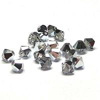 5328 Swarovski Xilion bicone Crystal Comet Argent Light 4 mm 20