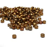 "Tjeckisk seedbead 8/0 ""01610E"" Etched Metallic Mix 10 gr"