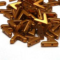 "AVA® bead ""01740"" Brass Gold 10*4 mm, 5 st"