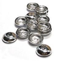 "Cup Button Crystal Labrador ""00030-27001"", 14 mm, 2 st"