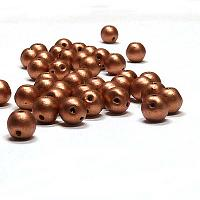 "RounDuo® bead - Crystal Vintage Copper ""00030-01770"" 2-håls 5 mm"
