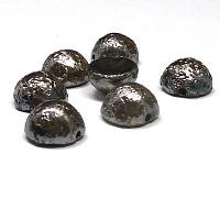"Dome Beads ""00030-27480E""  Crystal Etched Chrome Full 12*7 mm, 5"