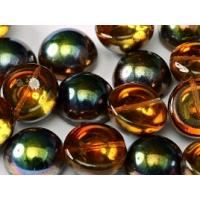 "Dome Beads ""00030-95300"" Crystal Magic Copper 14*8 mm, 5 st"
