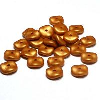 "Wavelet Beads ""29421"" Metallic Gold 10 mm, 20 st"