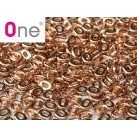 "One® Bead Crystal Capri Gold ""00030-27101"" 1,5*5mm, 5 gr"