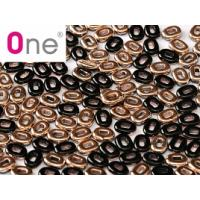 "One® Bead Jet Capri Gold ""23980-27101"" 1,5*5 mm 5 gr"