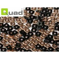 "Quad® Bead Jet Capri Gold ""23980-27101"" 4 mm, 5 gr"