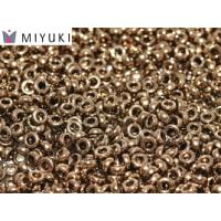 "Miyuki Spacer Bead ""457"" Metallic Dark Bronze 2,2*1 mm 5 gr"