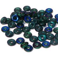 "O-bead ®, Emerald Azuro ""50730-22201"", 4*2 mm, 5 gr"