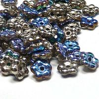 "Forget-me-not bead ""00030-98554"" Crystal Glittery Argentic , 5 m"