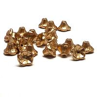 "Aztec Gold ""01710"" Flower Cup Bead 7*5 mm, 25 st"