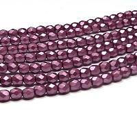 "Alabaster Pastel Burgundy ""25031"" 2 mm 100 st"