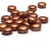 "DiscDuo® ""01770"" Vintage Copper, 6 mm, 2-hål, 25 st"