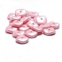 "Wavelet Beads ""29305"" Pastel Rose 10 mm 20 st"