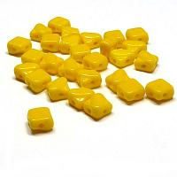 Silky Bead Lemon 83120, 2-håls 6 mm 40 st