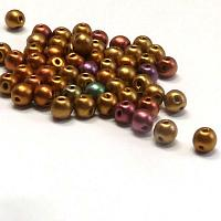"RounDuo mini ""01620"" Ancient Gold 4 mm 50 st"