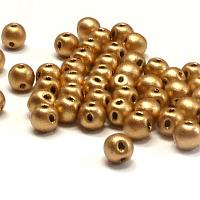 "RounDuo mini ""01710"" Aztec Gold 4 mm 50 st"