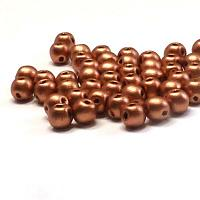 "RounDuo mini ""01770"" Vintage Copper 4 mm 50 st"