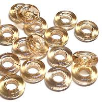 Glassrings Crystal blond flare 00030-23901, 9 mm, 25 st