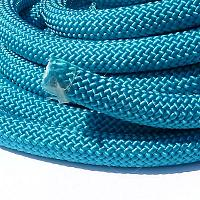 "Climbingcord ""sensation"" petrol 10 mm, ca 1 meter"