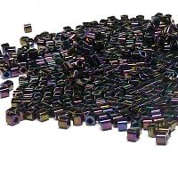 "TOHO cube 1,5 mm ""TC-01-85"" Metallic Iris Purple, 10 gr"