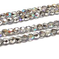 "Crystal Silver Rainbow ""00030-98530"" firepolish 4 mm, 50 st"