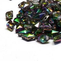 "DiamonDuo ""00030-95000"" Crystal Magic Orchid 2-hålspärla 8*5 m"
