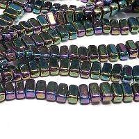 "CzechMates® Bricks Iris Purple ""21495"" 6*3 mm 50 st"