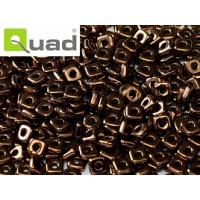 "Quad® Bead Jet Bronze ""23980-14415"" 4 mm, 5 gr"