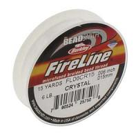 "Fireline 6 lb crystal ""D"" 0.006"" 0.15 mm 15 yard"