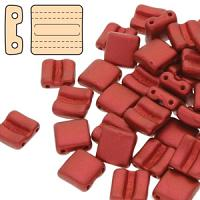 "Fixer bead horizontal ""01890"" Lava Red 8*7 mm 10 st"
