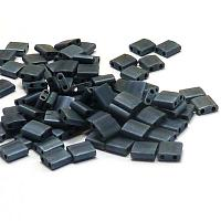 "Tila Bead ""TL2001"" Matted Gunmetal 5*5*1,9 mm 5 gr"