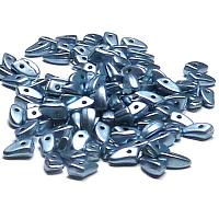 "CzechMates® Prong ""77046"" Saturated Metallic Airy Blue 6*3 mm 25"