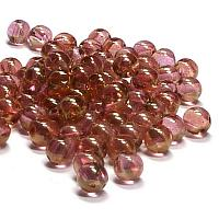 "RounDuo® bead - Crystal Red Luster ""00030-14495"" 2-håls 5 mm 50s"