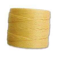 Light Gold Bead/Mac cord superlon, S-lon