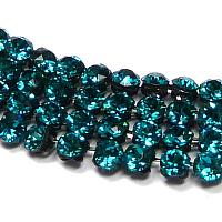 "40001 Swarovski Crystal Mesh ""Blue Zircon"" ca 2,7 mm 12 st"