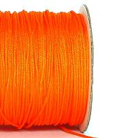 Polyestertråd - chinese knotting cord - neonorange 0,8 mm