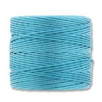 Nile Blue Bead/Mac cord superlon, S-lon