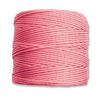 Pink Bead/Mac cord superlon, S-lon