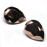 "4320 Swarovski Pear Fancy Stone ""Rosé Gold"" 14*10 mm 1 st"