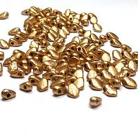 "Gekko® Bead ""01710E"" Etched Aztec Gold 5*3 mm 50 st"