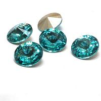 "1122 Swarovski Xirius Chaton SS39 ""Light Turquoise"" ca 8 mm 1 st"